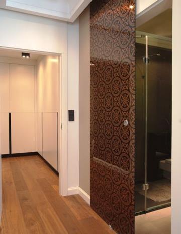 Drzwi z szkła Copper Morocco