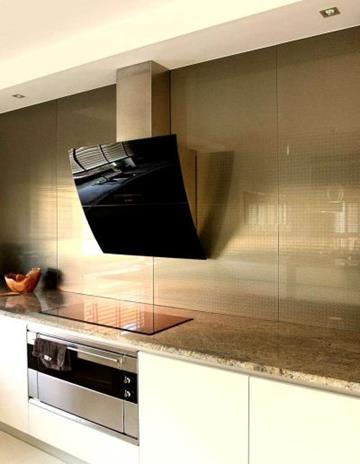 InoxGlass - panel kuchenny